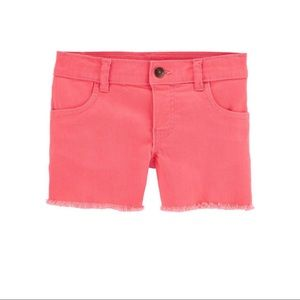 Carter's twill shorts *NWT*